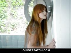Gingerpatch - firecrotch cutie sucks stepdads cock for cash