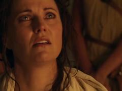 Lucy lawless - spartacus vengeance s2e01 fugitivus