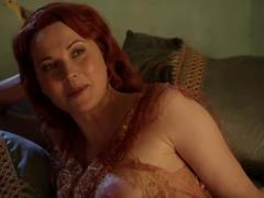 Lucy lawless - spartacus b and sand s1e10 party favors