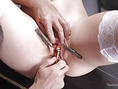 Hardcore slave training made her ready for everything