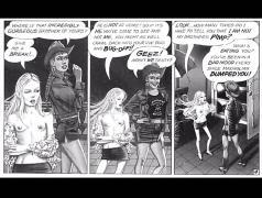 Thin horny woman giant cock comics