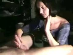 Great handjob from wifey
