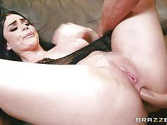 Fucked in the ass and sprayed with cum