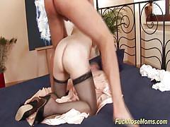 Busty stepmoms first porn video