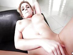 Pounding her tight butthole