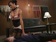 shemale, stockings, big tits, tattooed, deepthroat, asian, interracial, handjob, domination, sex slave, ts seduction, kink, venus lux, ruckus