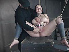 Luna is hanged, played and tortured
