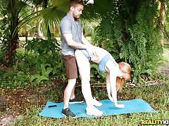 Lauren phillips naughty morning yoga