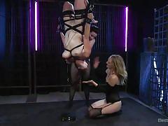 Veruca, bella and mona bondage party