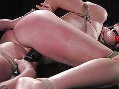 Ashley lane bound and hanged for pleasure
