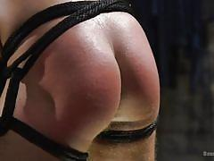Bound, spanked, made to suck and fuck