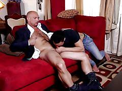 Jacking off with his buddy
