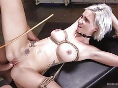 milf, orgasm, blonde, bdsm, canning, domination, blowjob, master, rope bondage, slave training, the training of o, kink, ramon nomar, astrid star
