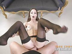 small tits, anal, blowjob, hardcore, brunette, pov, interactive, interactive porn, life selector, lilu moon