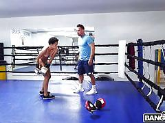 Trainer is more interested in teaching sex lessons than boxing