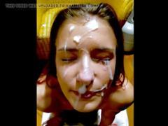 Amateur facial collection part2 on camslutbrutallity.com