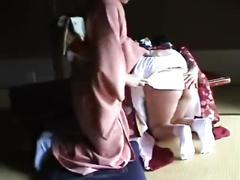 074 japanese new year spanking