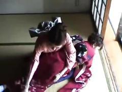 lesbian, japanese, spanking, punishment