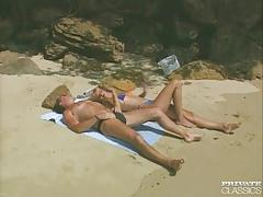 "Laura palmer in outdoor ""beach bums"""