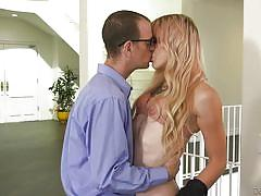Lena is giving chad housing lessons @ transsexual girlfriend experience #05