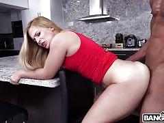 Sloan harper is excited to take big black cock for the first time