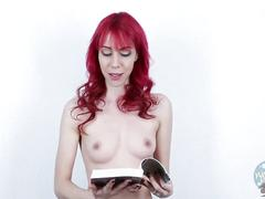 Topless girls reading: the hobbit