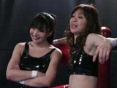 Lesbian wrestling tag mach