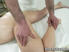 cumshot, mature, anal, massage, old, ass fuck, granny, cougar, gilf, gilfs, oldlady, oldwoman, hd, hardcore, blowjob
