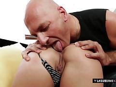 Brunette niki sweet loves hard cock and anal sex