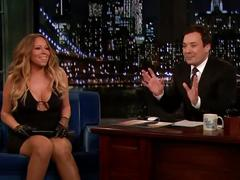 Mariah carey - jimmy fallon tonight 13-11-2013