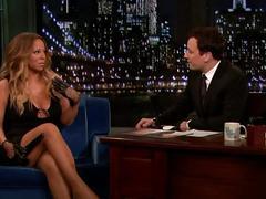 Mariah carey - jimmy fallon tonight 13-11-2013