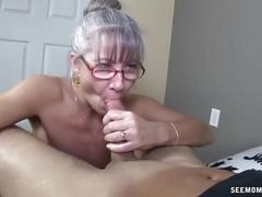 Grandma sucks you off