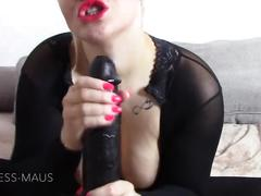 Monster dildo-cock! too big for my little pussy????