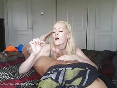 Pov sexy stoner swallows load - ourdirtylilsecret