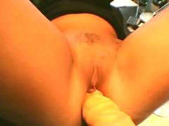 Young guy seduce a busty mom in the street and fuck her 2