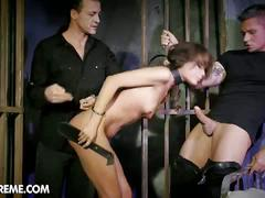 Threeway fucking with sophie lynx