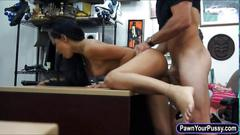 Cutie babe pounded for pawnshop cash