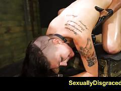rachael madori, facial, creampie, bdsm, bondage, leather, toys, dildo, slave, fetish, deepthroat, domination, humiliation, chains, sybian, submission, rough sex