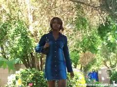Sensual black lesbian sex video