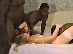 She gets fucked by some bbc