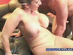 Kinky exploits christian with sara jay