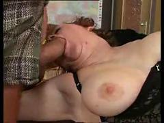 Redhead in cock sucking class
