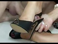 Milf shoejob 3