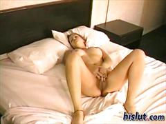 Macauley strips and masturbates for a homemade video