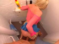 Michelle barrett anal bathroom fuck