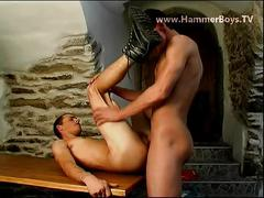 Secret camp fuck hard from hammerboys tv