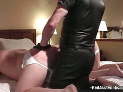 Two horny big asses gay gets hard spanking.