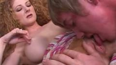 Redhead annie body seduces young stud