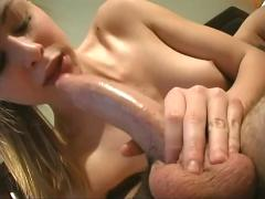 Cute young nikki get a fuck and facial in hotel