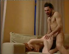 Skinny redhead milena fuck with crazy techno guy